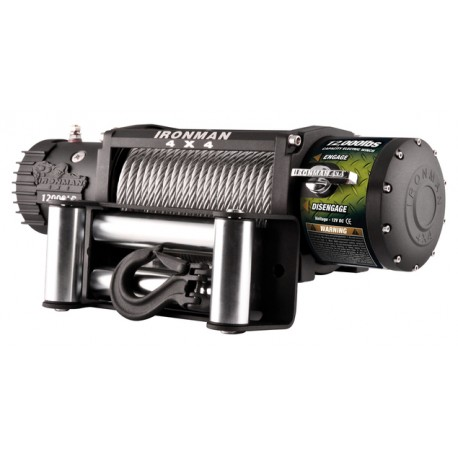 "Cabrestante IRONMAN ""MONSTER WINCH"" 12.0 12v"