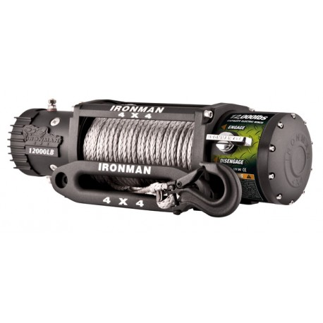 "Cabrestante IRONMAN ""MONSTER WINCH"" 12.0SR 12v"