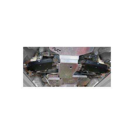 Protección brazos traseros PEHD 6mm DACIA DUSTER