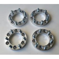 Kit separadores TYREX TOYOTA/MITSUBISHI +30mm Alum